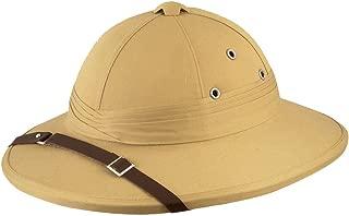 MA ONLINE Unisex Beige Safari Deluxe Hat Adults Hen Night Fancy Dress Party Accessory