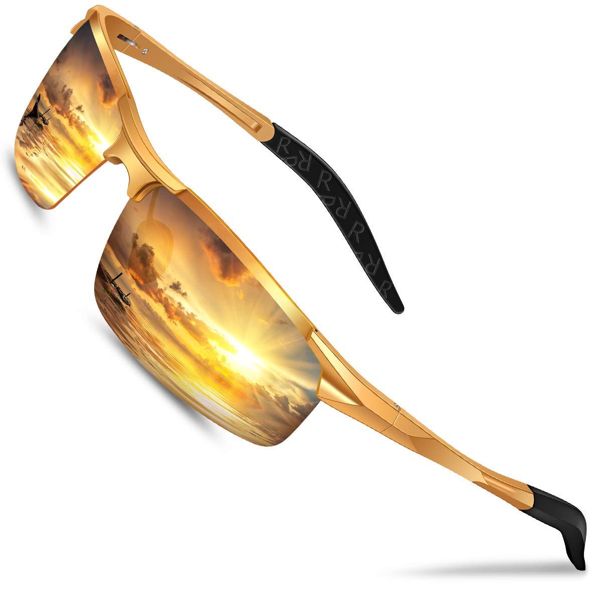 DADA PRO Glasses Polarized Wraparound Nightguide