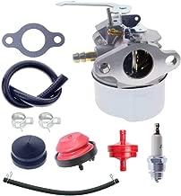 640086A Carb Carburetor Kit for Tecumseh 640086 632641 632552 Tecumseh HSK600 KSK600 TH098SA 3HP Toro CCR Powerlite Engines 2 Cycle Carburetor