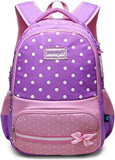Girls School Backpack Kids Elementary School Bags Bookbag