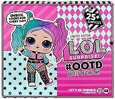 L.O.L. Surprise, OOTD 2020 - Calendrier de l'Avent 25 surprises dont 1 poupée exclusive 8cm, accessoires et vêtements,...