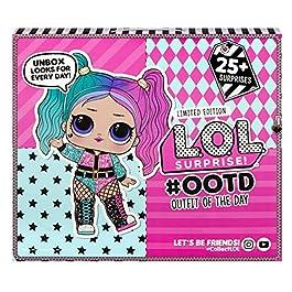 L.O.L. Surprise, OOTD 2020 – Calendrier de l'Avent 25 surprises dont 1 poupée exclusive 8cm, accessoires et vêtements…