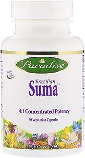 Paradise Herbs Brazilian Suma, 60 Vegetarian Capsules