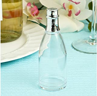 FASHIONCRAFT Clear Plastic Champagne Bottle Box From The Perfectly Plain, 60