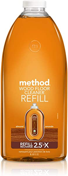 Method Squirt Mop Hardwood Floor Cleaner Refill Almond 68 Fl Oz Pack Of 1