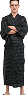 Men's Japanese Yukata Japanese Kimono Home Robe Pajamas Dressing Gown