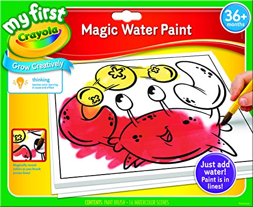 Crayola 81-1363 My First Crayola- Paint by Dot Baby Toy by Crayola