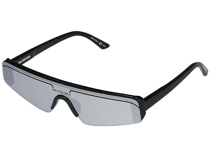 Balenciaga  BB0003S (Black) Fashion Sunglasses