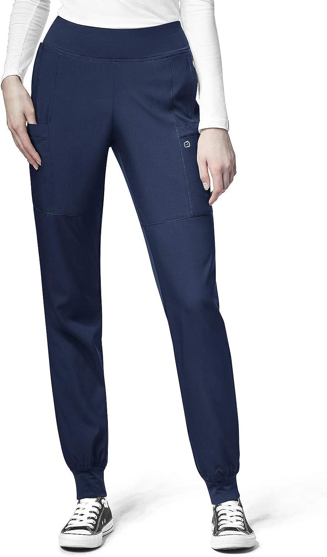 WonderWink W123 Women's 5555 Pant Comfort Award-winning High quality store Jogger Waist