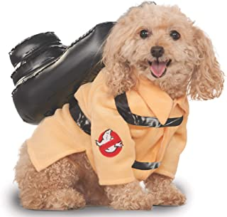 """Ghostbusters Pet Costume, Movie Dog Outfit, Large, Neck to Tail 22"""", Chest 23"""""""