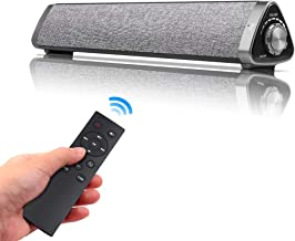 Sanwo Bluetooth Sound Bar Wired and Wireless Home Theater TV Triangle Speaker Bar with..