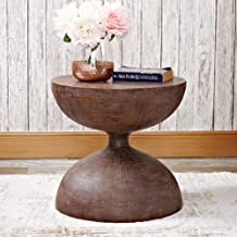 Sofa Side Table Antique Coffee Table Industrial Coffee Table Bedside Table Small Round Table Living Room Bedroom Bedside T...