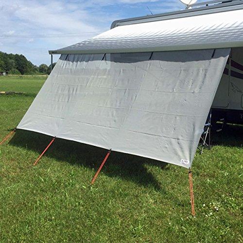 RTENT Sonnenschutz-Front für Dach und Wandmarkisen 4,30m breit
