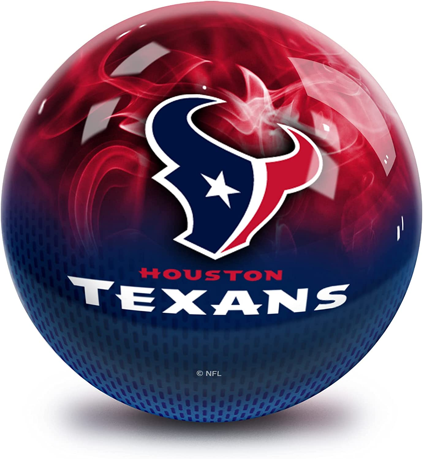 Strikeforce Bowling NFL Popular popular Houston On Undrilled Large special price !! Fire Texans