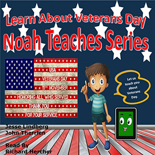 Learn About Veterans Day audiobook cover art