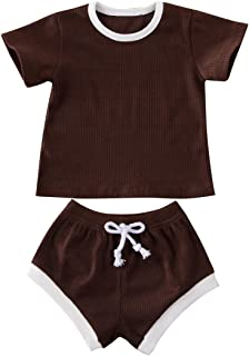 Geagodelia - Conjunto de 2 piezas para bebé y niñas, diseño de Toddler