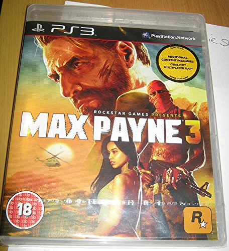 Max Payne 3 for PS3 [Importación Inglesa]