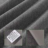 HDM 38 * 75CM Gris Oscuro Bloque tragaluz estor para Velux ventanas de techo - Protector solar | Varios tamaños - Protección UV