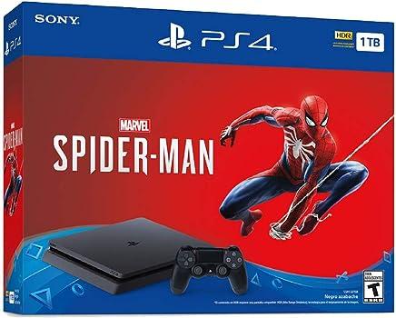 Console PlayStation 4 Slim 1TB Spider Man Mídia Física