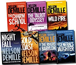 Nelson Demille Collection 7 Books Set Pack RRP £ 55.93 (The Rivers of Babylon, The Generals Daughter, Night Fall, The Charm School, The Talbot Odyssey, Gold Coast, Wild Fire) (Nelson Demille Collection)