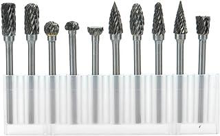 Cozyswan escofina 10stk–Fresa Metal Lápices Set Taladro Bit fresas de diamante (Rotary Archivo Tungsteno Acero