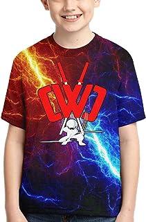 Child CWC Chad Wild Clay Shirt Boys 3D Print Short Sleeve Tshirt M Black