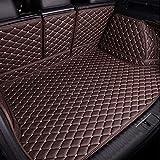 Alfombrilla todo incluido para el maletero del automóvil Mazda 3 MPV MX-5 CX-7 2006-2015, forro del maletero, cubierta de la bandeja, almohadilla protectora del cojín, cuero, resistente a los arañazos