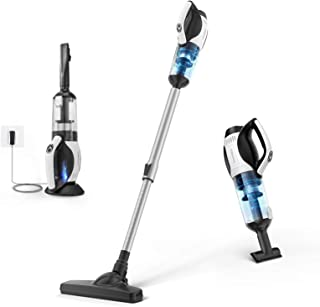 APOSEN Cordless Vacuum Cleaner, 4 in 1 Stick Handheld Vacuum Cleaner, 14Kpa Strong Suction, Cyclone HEPA Filtration, Quiet...