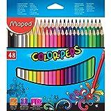 48 Lápices de colores COLOR'PEPS. Maped 832048ZV, Multicolor