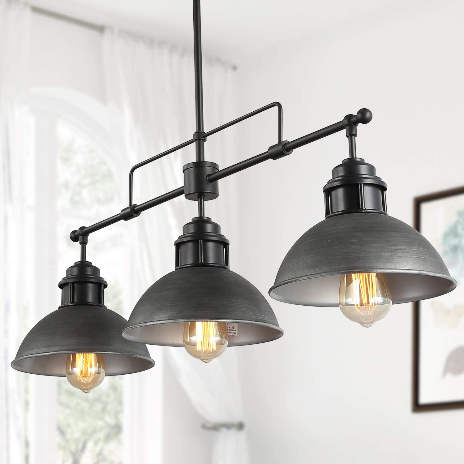 LNC Kitchen Ranking TOP5 Island Max 62% OFF Lighting Dining in D Room Chandelier Antique