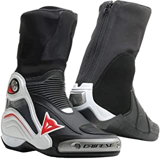 Dainese Axial D1 Motorcycle In Boots - Black/White/Red - 43 Eu