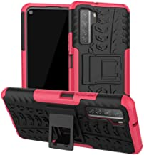 FanTing Case for Samsung Galaxy M31s, Detachable 2 in 1 Shockproof Cover [Drop Resistance] [High Impact] [Heavy Duty] [TPU+PC] With stand function Protective Case -Pink