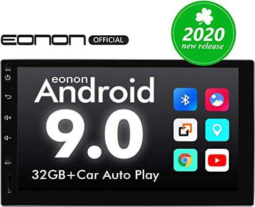 Double Din Car Stereo, Android 9 Android Head Unit with DSP, Eonon 7 Inch Car Stereo Car Radio Support Android Auto A...