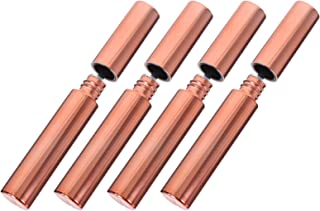 Minkissy Tubo de Rímel Vazio: 4Pcs 10ML Recarregáveis Garrafa Recipiente De Creme de Cílios Cílios Tubos Com Cílios Varinh...