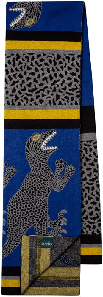 PS by Paul Smith mens Dino Knit Scarf