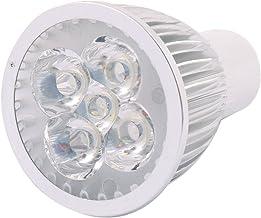 X-DREE AC 220V GU10 LED Light 5W 5 LEDs Spotlight Down Lamp Bulb Adjustable Lighting Pure White (4dd186eb-a222-11e9-8d7c-4...