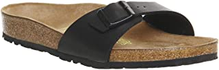 Birkenstock Australia Women's Madrid Sandals, Black, 38 EU