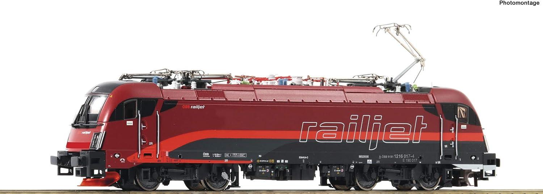 Roco 73248 Elektrolokomotive 1216 017-4  Railjet, ÖBB mit Sound B07JK8V5DQ Ästhetisches Aussehen  | Überlegene Qualität