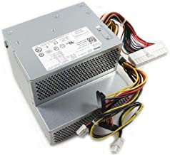 Genuine Dell 235W RT490 Replacement Power Supply Unit Power Brick For Optiplex 210L, 320, 330, 360, 740, 745, 755 GX520, GX620 Systems and Dimension C521, 3100C, and New Style GX280 Systems Replaces Part Numbers: MH596, MH595, NH429, P9550, U9087, X9072 Replaces Model Numbers: AA24100L, D280P-00, H280P-00, L280P-01