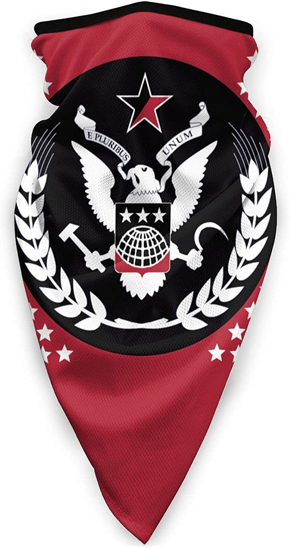 Kaiserreich Syndicalist Unisex Outdoor Anti Sun UV Windproof Sports Mask Balaclava Fishing Motorcycle Neck Gaiter Black