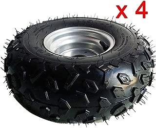 145/70- 6 Inch Wheel Rim With Tire 50cc 110cc Quad Dirt Bike ATV
