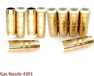 10pcs Gas Nozzle 4391 5/8
