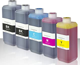 OfficeSmartInk Refill Ink with Refill Kit Compatible with Most Inkjet Printers (2X Black, 1x Cyan, 1x Magenta, 1x Yellow 5...