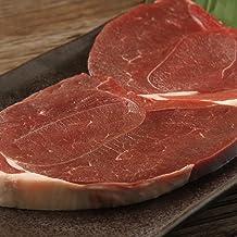 鹿肉 モモ肉 15mm カットステーキ 500g【北海道産エゾシカ肉】