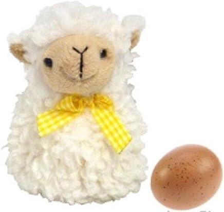 """Preisvergleich für Eierwärmer """" Schäfchen """" plüschiges Schaf gegen kalte Eier"""