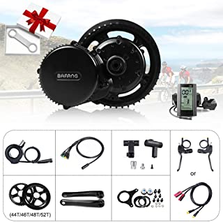 BAFANG 48V 750W Mid Motor Drive System Electric Bike Conversion Kits with Optional LCD Display and BBS Installation Wrench as a Gift - coolthings.us