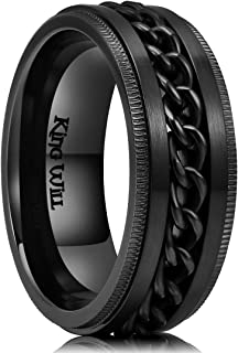 Best spinner ring wedding band Reviews