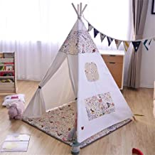 Home Equipment Kids Tent Room Decoration Kids Play Tent With Mat Tents Toddlers Boys Girls Playhouse Cotton Canvas Tipi Wi...