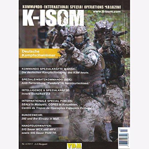 K-ISOM 4/2017 Kampfschwimmer KSK Marine Spezialkräfte Seals Bundeswehr Handfeuerwaffen