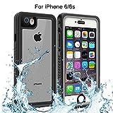 iPhone 6 iPhone 6s Waterproof Case, Re-sport Full-Body Protective Shockproof Dustproof Underwater Cover